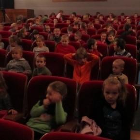 Wyjście do kina w Mrozach