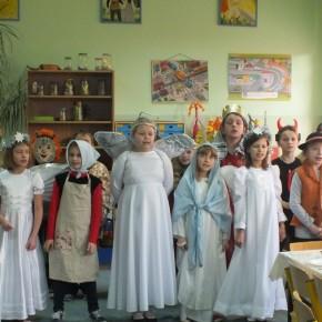 Wigilia w klasie IIIi