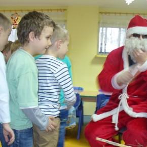 Mikołaj w klasie 0a