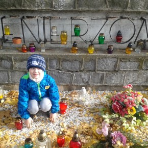 Wizyta na cmentarzu- klasa 0B