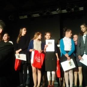 Łucja Sawicka laureatką konkursu powiatowego