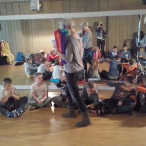 Zajęcia teatralne klasy 3 b