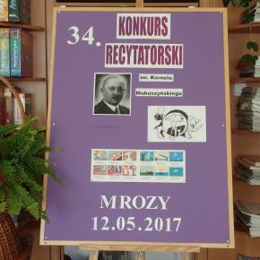 34. Konkurs Recytatorski im. Kornela Makuszyńskiego