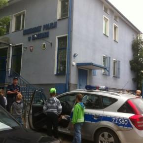 ZWIEDZANIE KOMISARIATU POLICJI