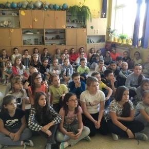 Spotkanie integracyjne klas 4