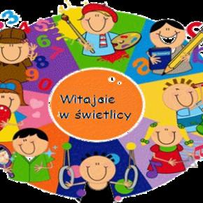 Informacja dotycząca przyjmowania dzieci do świetlicy szkolnej   na rok szkolny 2020/2021