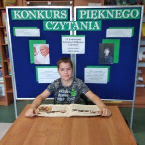 IX Powiatowy Konkurs Pięknego Czytania